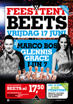 Poster Feesttent Beets 2016